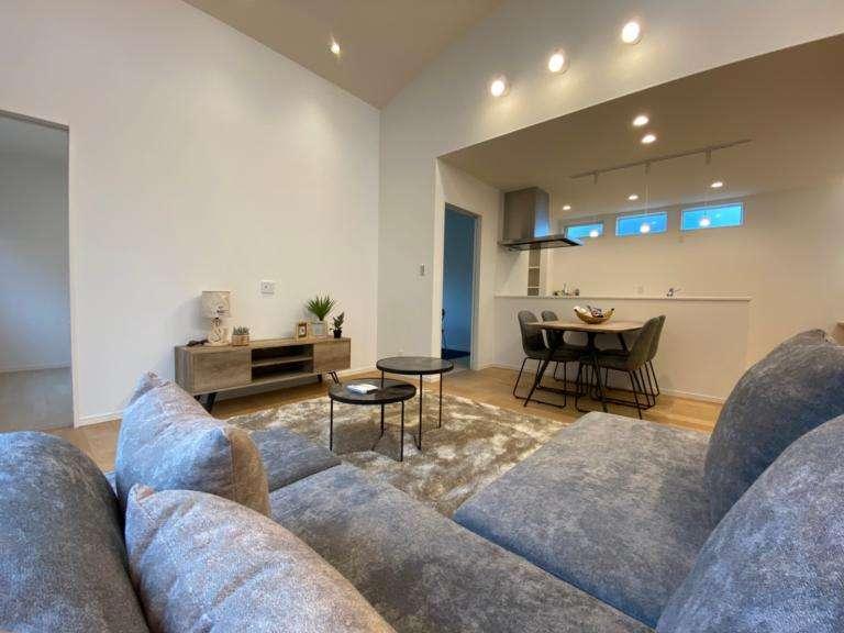 image 鯰田平屋モデルに家具が入りました!